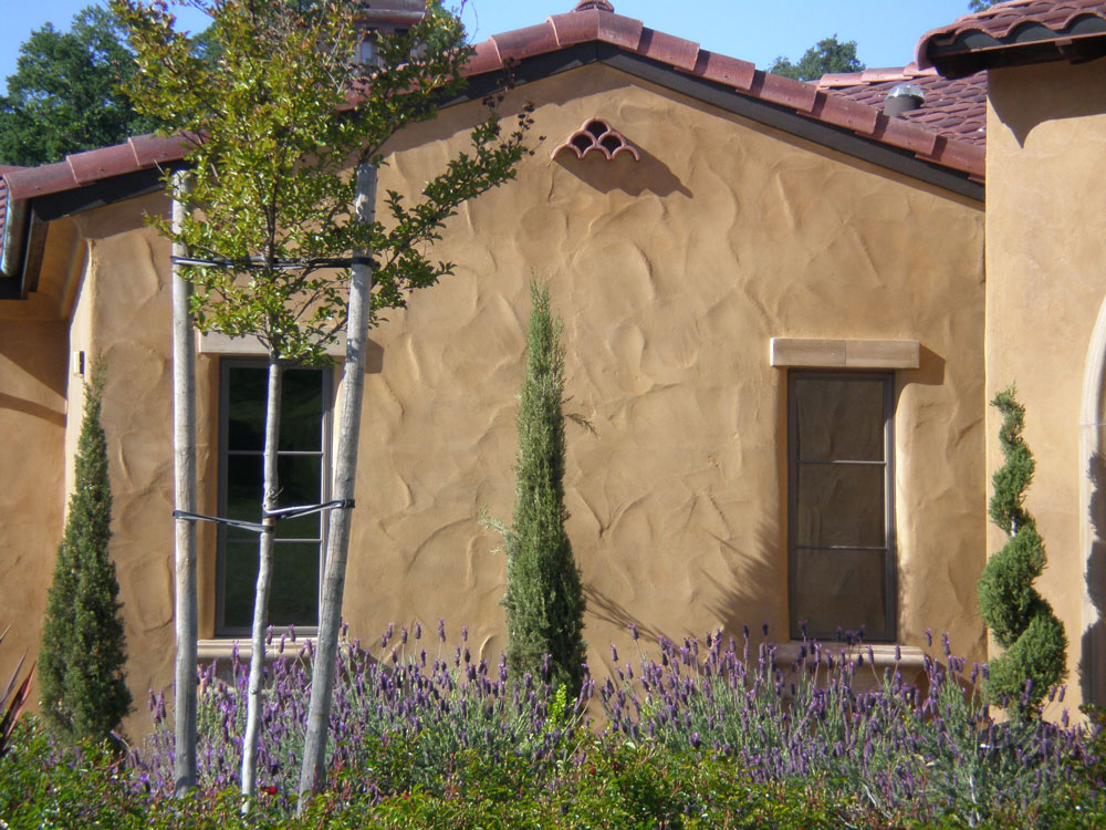 Types of stucco textures imperfect smooth finish old - Types of exterior finishes for homes ...
